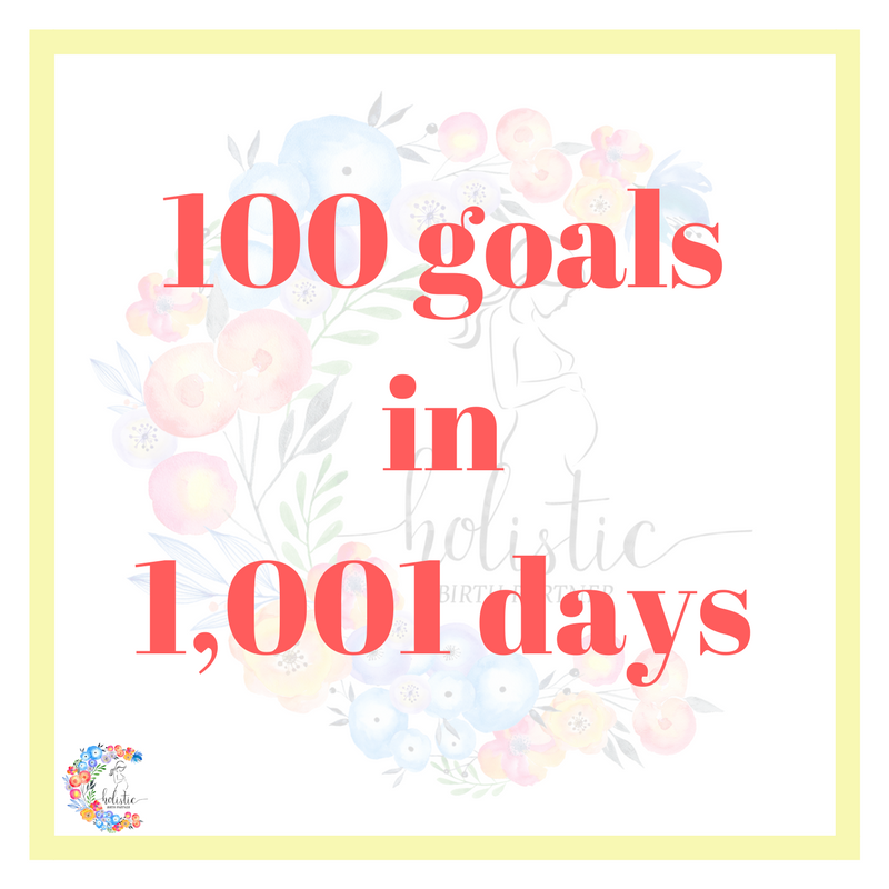 101 goals in 1,001 days puerto rico