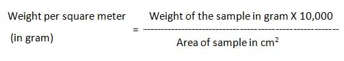 GSM calculation formula