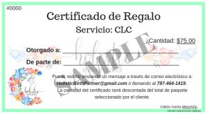 Certificados de Regalo (3)