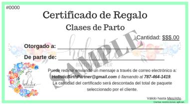 Certificados de Regalo (4)